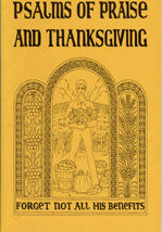 Psalms of Praise and Thanksgiving - Coloring Book
