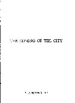 Coming of the City