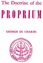 Doctrine of the Proprium