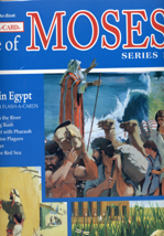 Moses: Journey Through the Wilderness  - Flash-a-Card Picture Series