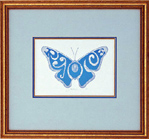 Rejoice Butterfly - Framed Art