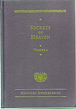 Secrets of Heaven vol. 1, NCE, hardback