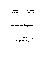 Swedenborg's Preparation